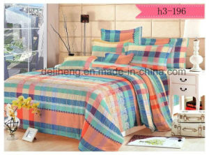 Floral Cashmere Microfiber Polyester Reactive Printed Bed Sheet Fabric pictures & photos