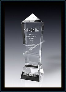 Crystal Award Olympic Obelisk 11 Inch Tall pictures & photos