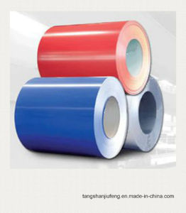 Color Coated Steel Coil/PPGI/Pre-Painted Galvanized Steel Coils pictures & photos