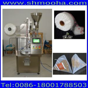 Nylon Pyramid Tea Bag Packing Machine with String and Tag pictures & photos