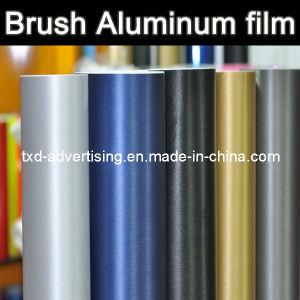 Multicolor Brushed Vinyl Car Wrap Vinyl 1.52*30m