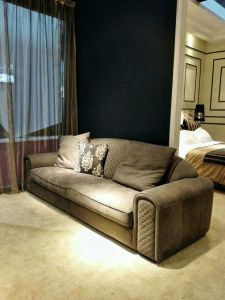 Italian Style Nubuck Leather Upholstered Furniture Series pictures & photos