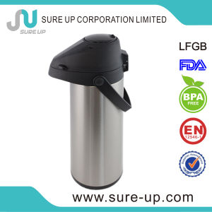 1.9L Glass Lined Stainless Steel Airpot with Pump (AGUK019) pictures & photos