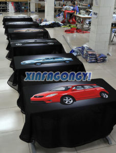 100% Polyester Table Cover, Table Cloth pictures & photos