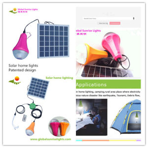 Outdoor Lighting, Camp, Tent, Fishing Lamp, Solar Garden Lamp pictures & photos