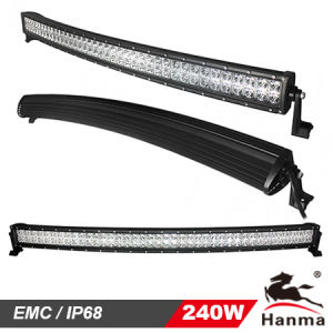 Hanma Creating Curved LED Light Bar CREE 240W