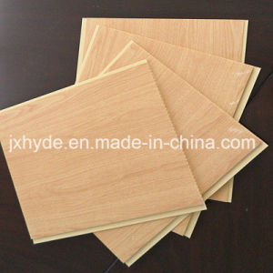 250*7.5mm Wooden Pattern Hot Stamp PVC Panel PVC Ceiling Panel and Wall Panel (RN-176) pictures & photos