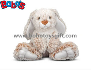 25cm Baby Plush Sitting Rabbit Animal Toy with Long Ears and Big Feet pictures & photos