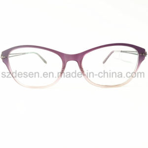 Custom Logo Printing Logo Fashion Cat Eye Eyewear Optical Frame pictures & photos
