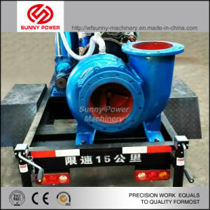 14inch Diesel Water Pump for Agricultural Irrigation with Trailer pictures & photos