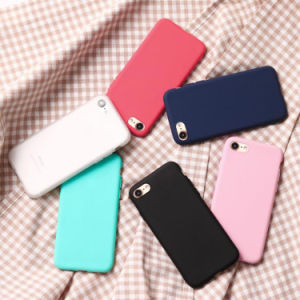 New Following Silicone Soft Shell Frosted TPU Candy Plus 6 Cases Wholesale pictures & photos