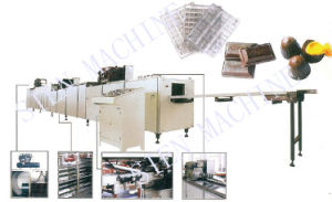 Chocolate Depositing Line (Single/ Double Depositing Head) pictures & photos