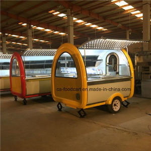 High Quality Customized Kitchen Trolley, Mobile Food Trailer pictures & photos