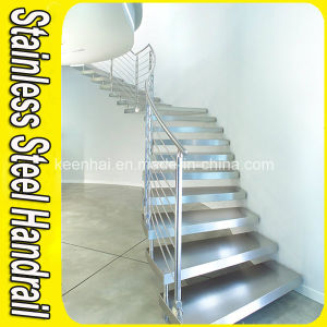 China Wholesale Glass Stair Staircase Handrail Railing pictures & photos