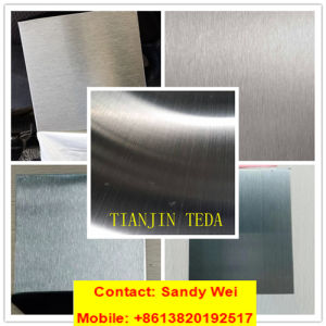 Factory AISI304 Stainless Steel Sheet with Satin Hairline Vortex Finish pictures & photos