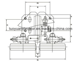 Elevator Roller Guide Shoe pictures & photos