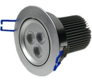 5*3W RGB 3in1 LED Ceiling Down Light pictures & photos