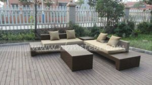 2016 Modern Outdoor Rattan/Wicker Sofa Leisure Garden Furniture (MTC-281) pictures & photos