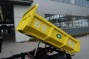 Dump Electric Three Wheeler Tricycle pictures & photos
