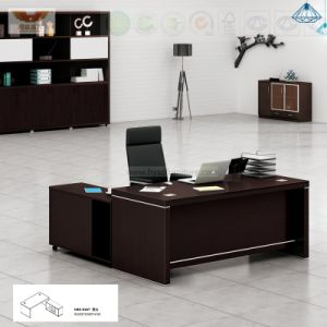 Office Furniture Black L Shape Executive Desk (H80-0167) pictures & photos