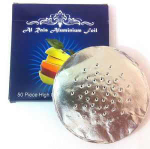 Hookah Shisha Aluminum Foil with Holes, Suitable for Health Smoking (DF-AL-AF-06)
