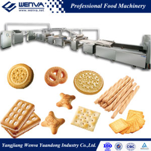 Wenva Multi-Purpose Full Automatic Biscuit Making Machine pictures & photos