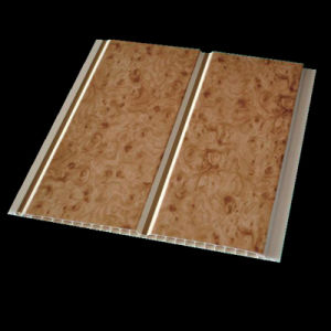 Middle Groove Waterproof Ceiling and Wall Bathroom PVC Ceiling Tile (RN-88) pictures & photos