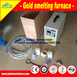 Small Gold Melting Furnace with Graphite Crucible for Gold Purification pictures & photos