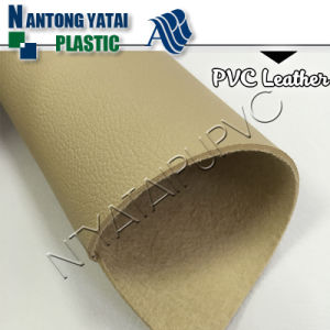Waterproof PVC Sofa Fabric Faux Synthetic Leather