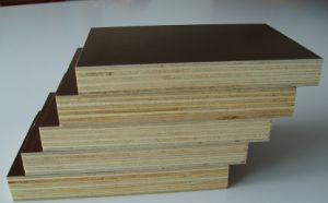 Finger Joint Film Faced Plywood for Construction/Black /Brown pictures & photos