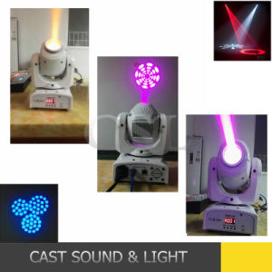 New 10W Mini LED Moving Head Stage Spot Light pictures & photos