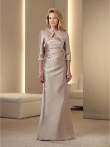 2011 New Fashion Custom Made 1 Piece Formal Mother of Bridal Dress (MC111952)