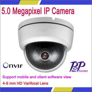 4-9 Mm HD Varifocal Lens 5.0 Megapixel IP Camera (VG-S5.0MP-DV-IR30)