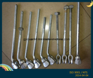 Pole Line Fitting Angle Thimble Eye Bolt pictures & photos