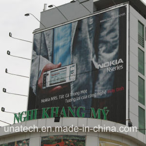 Outdoor Architecture Advertising Media Flex Vinyl Fabric LED out Light Triple Signage pictures & photos