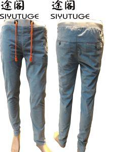 Mens Fashion Casual Comfortable Cotton Trousers Pants pictures & photos