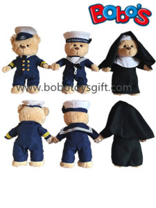 Custom Plush Sailor Teddy Bear Toy with Softest Material pictures & photos