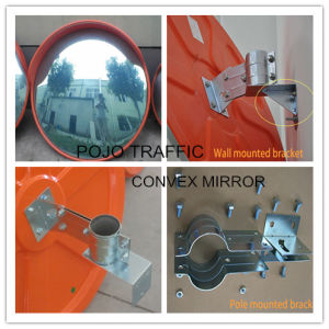 Traffic Road Safety Mirror Parking Lots Unbreakable Convex Mirror