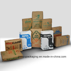 Leakproof Kraft Paper Bag for Cement Packaging pictures & photos