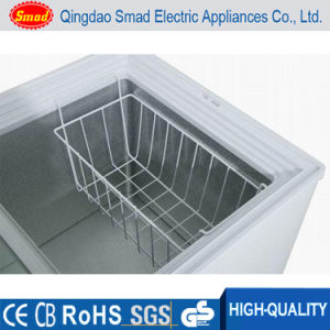 318L 12V DC Solar Top Open Solid Door Chest Deep Freezer pictures & photos
