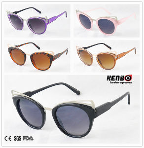 Hot Sale Fashion Sunglasses with Nice Metal Plate for Party CE, FDA, 100% UV Protection Kp50253 pictures & photos