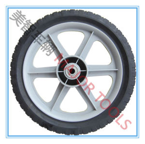 12/14/16 Inch Semi-Pneumatic Rubber Bicycle Wheels pictures & photos