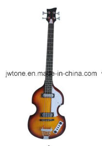 Hollow Body Arched Body Top Quality 4 String Bass Guitar pictures & photos