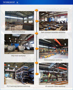 Factory Supply Concrete Mixing Plant Used Inclined Screw Conveyor pictures & photos