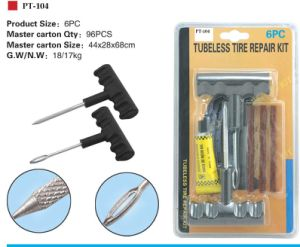 Car Tubeless Tire Repair Kit (PT-104)