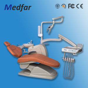 Hot Sale Medical Electric Mounted Dental Unit Chair (MFD208A) pictures & photos