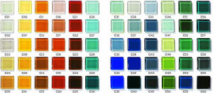 Colored Glass Brick for Curtain Wall pictures & photos