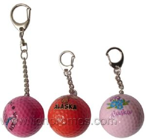 Tourism Promotional Gift Golf Ball Key Ring pictures & photos