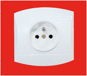 1 Gang French Wall Socket (YW-2806) pictures & photos