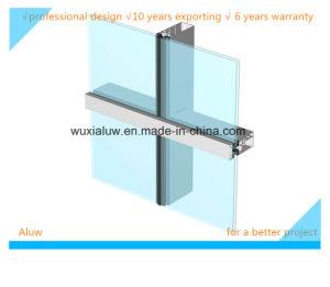 Energy Saving Semi-Hidden Frame Curtain Wall pictures & photos